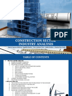 CONSTRUCTION SECTOR INDUSTRY ANALYSIS.pptx