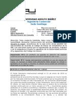 Syllabus Macro II- Felipe Morales
