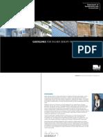 Guidelines for Higher Density Residential Development