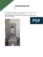 Informe de Laboratorio de Materiales