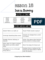 Lesson 18 Study Guide