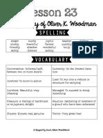 Lesson 23 Study Guide