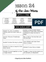 Lesson 24 Study Guide
