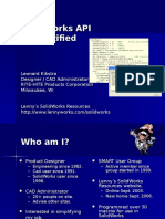 10-06 SolidWorks API Demystified