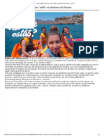 18/07/16 Invita Cofetur a Tomarse Una 'Selfie' en Destinos de Sonora - Uniensenada