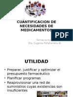 3.- CUANTIFICACIÓN Y GESTIÓN DE LAS NECESIDADES DE MEDICAMENTOS Y (1).pptx