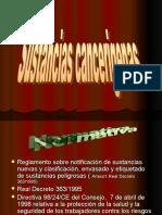 Sustancias Cancer