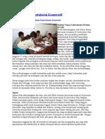Pendekatan Pembelajaran Kooperatif
