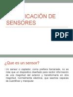 Clasificación de Sensores Instru.elec 1s.2015