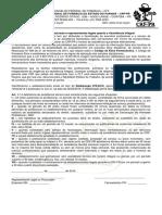 Formulario Orientacao Assistencia Integral 2016