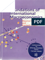 Foundations of International Macroeconomics