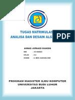 Tugas Matrikulasi Analisa Dan Desain Algoritma _ Ahmad Jurnaidi Wahidin