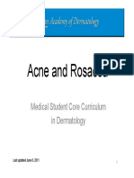 Acne and Rosacea Module
