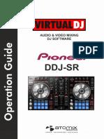 Pioneer DDJ-SR VirtualDJ Operation Guide