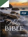 The NKJV Holy Bible, Larger Print