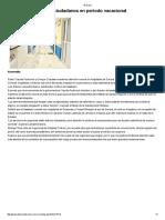 18/07/16 Atenderá Isssteson a ciudadanos en periodo vacacional - El Diario de Sonora