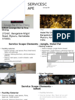 Servicescape of Full Service Restaurants