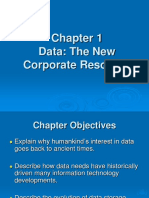 Chapter 1 Data the New Corporate