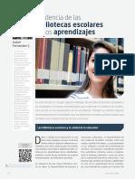 Incidencia de Las Bibliotecas Escolares en Colombia