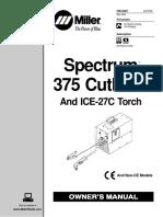Manual Spectrum 375 CutMate