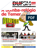 Jornal Sedufsm Agosto 2016