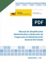 Manual de Simplificación de trabajo