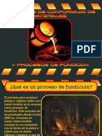 V Procesos de Fundicion