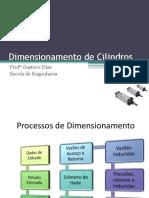 Dimensionamento de Cilindros