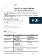 Prontuario de Processing