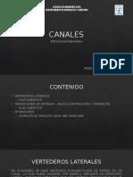 Estructuras en Canales