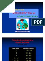 TERAPÊUTICA MEDICAMENTOSA em ODONTOPEDIATRIA