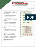 Examen de Repaso en Razonamiento Matematico - Biii Falta
