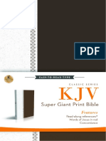 KJV, Super Giant Print Reference Bible - Galatians