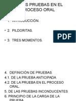 DE LAS PRUEBAS EN EL PROCESO ORAL.ppt
