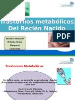 Alteraciones Metabolicas Del RN Zenahir