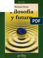 Rorty, Richard - Filosofia y Futuro