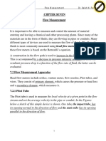 Venturimeter Flow Measurrements numericals