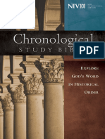 NIV the Chronological Study Bible - Epoch One