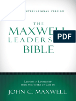 NIV, The Maxwell Leadership Bible - 1 & 2 Timothy