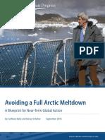 Avoiding a Full Arctic Meltdown