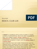Beach. Club Lux