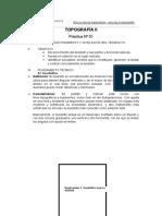 Informe Campo Topografía II