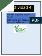 Info Actividad 4