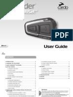 Cardo's Scala Rider Q3/Q3 MultiSet - User Manual