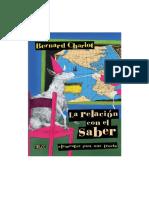 El Relacionamiento Con El Saber - B. Charlot
