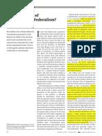 Asymmetrical Federalism Debate