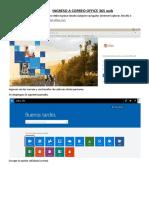 Ingreso a Correo Office 365 Web