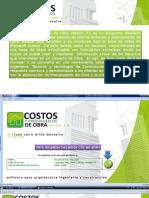Presentacin Software Costos y Presupuestos de Obra v35 1221859404644727 8