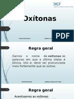 Apresentação de Portugues - OXITONAS