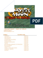 Harvest Moon Back to Nature Prima Official eGuide pdf